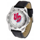 Dayton Flyers Men's Sport Watch with Leather Band