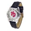 Dayton Flyers Ladies Sport Watch with Leather Band