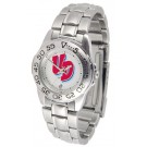 Dayton Flyers Ladies Sport Watch with Stainless Steel Band