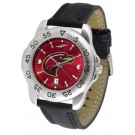 Louisiana (Monroe) Warhawks Sport AnoChrome Men's Watch with Leather Band