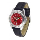 Louisiana (Monroe) Warhawks Sport AnoChrome Ladies Watch with Leather Band