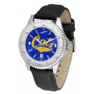 Montana State Bobcats Competitor AnoChrome Men's Watch with Nylon/Leather Band