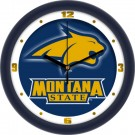 "Montana State Bobcats 12"" Dimension Wall Clock"