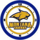 "Montana State Bobcats Traditional 12"" Wall Clock"