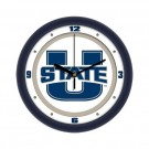 "Utah State Aggies Traditional 12"" Wall Clock"