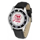 Utah Utes Competitor Men's Watch by Suntime