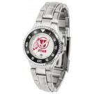 Utah Utes Competitor Ladies Watch with Steel Band