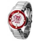 Utah Utes Titan Steel Watch by