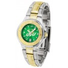 Utah Valley State (UVSC) Wolverines Competitor AnoChrome Ladies Watch with Two-Tone Band