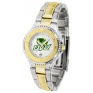 Utah Valley State (UVSC) Wolverines Competitor Ladies Watch with Two-Tone Band