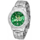 Utah Valley State (UVSC) Wolverines Competitor AnoChrome Men's Watch with Steel Band