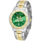 Utah Valley State (UVSC) Wolverines Competitor AnoChrome Two Tone Watch