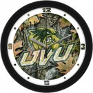 "Utah Valley State (UVSC) Wolverines 12"" Camo Wall Clock"
