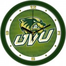 "Utah Valley State (UVSC) Wolverines 12"" Dimension Wall Clock"