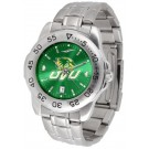 Utah Valley State (UVSC) Wolverines Sport Steel Band Ano-Chrome Men's Watch