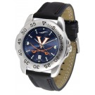 Virginia Cavaliers Sport AnoChrome Men's Watch with Leather Band