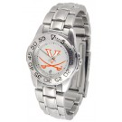 Virginia Cavaliers Gameday Sport Ladies' Watch with a Metal Band