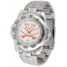 Virginia Cavaliers Sport Steel Band Men's Watch