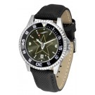 Vanderbilt Commodores Competitor AnoChrome Men's Watch with Nylon/Leather Band and Colored Bezel