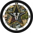 """Vanderbilt Commodores 12"""" Camo Wall Clock"""