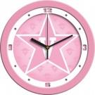 """Vanderbilt Commodores 12"""" Pink Wall Clock"""