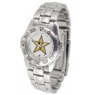 Vanderbilt Commodores Gameday Sport Ladies' Watch with a Metal Band