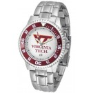 Virginia Tech Hokies Competitor Watch with a Metal Band
