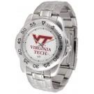 Virginia Tech Hokies Sport Steel Band Men's Watch