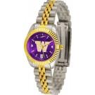 Washington Huskies Ladies Executive AnoChrome Watch by