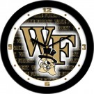 "Wake Forest Demon Deacons 12"" Dimension Wall Clock"