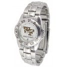 Wake Forest Demon Deacons Gameday Sport Ladies' Watch with a Metal Band