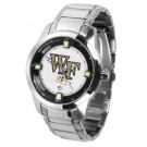 Wake Forest Demon Deacons Titan Steel Watch by