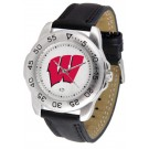 Wisconsin Badgers Gameday Sport Men's Watch by Suntime