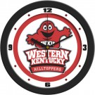 "Western Kentucky Hilltoppers Traditional 12"" Wall Clock"