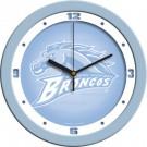 """Western Michigan Broncos 12"""" Blue Wall Clock"""
