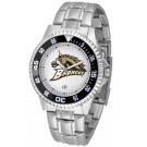 Western Michigan Broncos Competitor Watch with a Metal Band