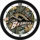 """Western Michigan Broncos 12"""" Camo Wall Clock"""