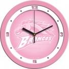 "Western Michigan Broncos 12"" Pink Wall Clock"