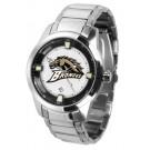 Western Michigan Broncos Titan Steel Watch