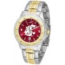 Washington State Cougars Competitor AnoChrome Two Tone Watch