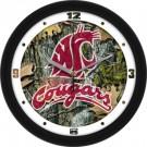 "Washington State Cougars 12"" Camo Wall Clock"