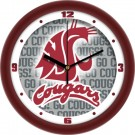 """Washington State Cougars 12"""" Dimension Wall Clock"""