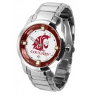 Washington State Cougars Titan Steel Watch