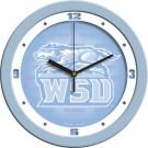 "Wright State Raiders 12"" Blue Wall Clock"