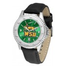 Wright State Raiders Competitor AnoChrome Men's Watch with Nylon/Leather Band