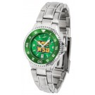 Wright State Raiders Competitor AnoChrome Ladies Watch with Steel Band and Colored Bezel