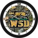 "Wright State Raiders 12"" Camo Wall Clock"