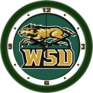 "Wright State Raiders 12"" Dimension Wall Clock"