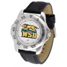Wright State Raiders Men's Sport Watch with Leather Band