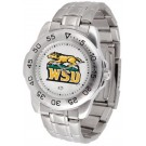 Wright State Raiders Sport Steel Band Men's Watch